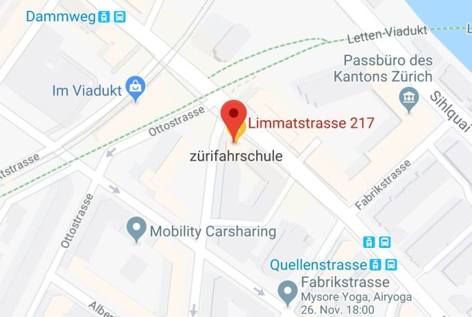 google maps limmatstrasse